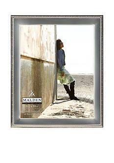 Malden Silver Metal Bead 8x10 Frame
