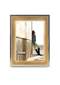Malden Gold Metal Beaded 5x7 Frame