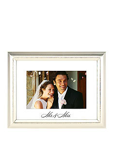 Malden Mr. & Mrs. 4x6 Metal Frame