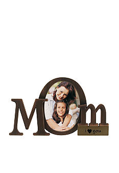 Malden Mom Shaped Sentiment Frame