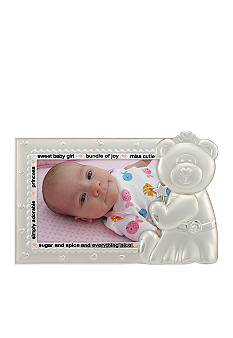 Malden Baby Girl 3x5 Bear Frame