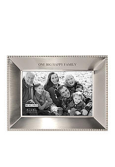 Malden Simply Stated Happy Family 4x6 Frame