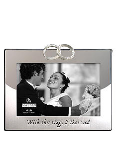 Malden Wedding Band 4x6 Frame