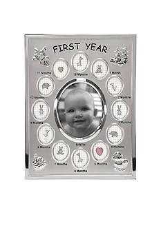 Malden Baby's 1st Year Frame