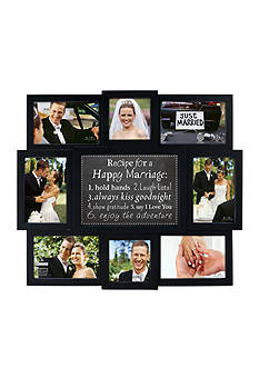 Malden Happy Marriage Recipe 4x6 Photo Wall Collage
