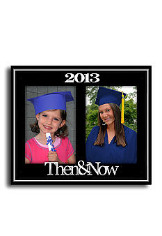 Malden 2013 Then and Now Graduation 4x6 Frame