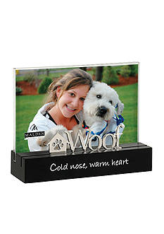 Malden Woof, Cold Nose, Warm Heart 4x6 Tabletop Frame