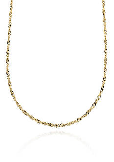 Belk & Co. 14k Yellow Gold Necklace