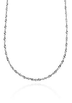 Belk & Co. 14k White Gold Necklace