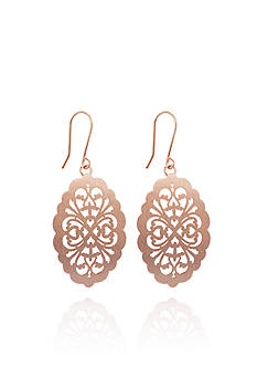 Belk & Co. 14k Rose Gold Earrings