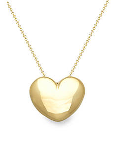 Belk & Co. 14k Yellow Gold Heart Necklace