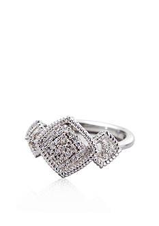Belk & Co. Sterling Silver Diamond Ring