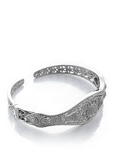 Belk & Co. Diamond Bangle Bracelet in Sterling Silver