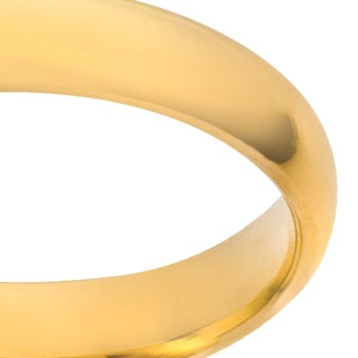 Wedding Rings: Yellow Gold Belk & Co. 14k 4-mm. Plain Wedding Ring