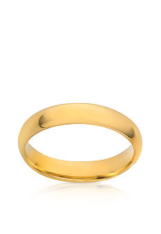 Belk & Co. 14k 4MM Plain Wedding Ring