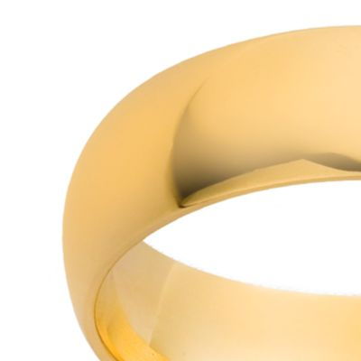 Jewelry & Watches: Belk & Co. Fine Jewelry: Yellow Gold Belk & Co. 10K 6MM Comfort Feel Band