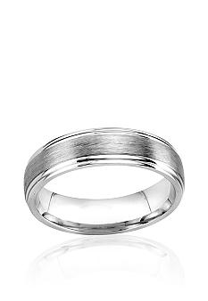 Belk & Co. Sterling Silver 6.5mm Engraved Band