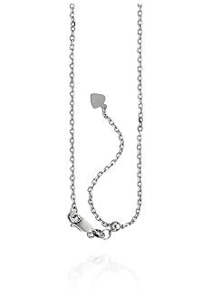 Belk & Co. Adjustable Cable Chain in Sterling Silver