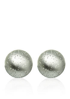 Belk & Co. Sterling Silver Stardust Ball Stud Earrings