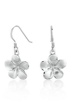 Belk & Co. Sterling Silver Flower Earrings