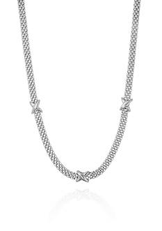 Belk & Co. Sterling Silver Station Necklace