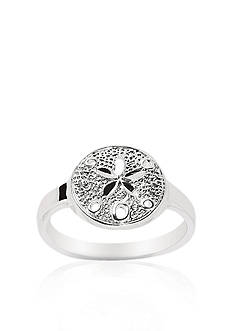 Belk & Co. Sterling Silver Sand Dollar Ring