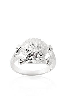 Belk & Co. Sterling Silver Sea Shell Ring
