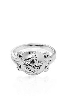 Belk & Co. Sterling Silver Sand Dollar Ring