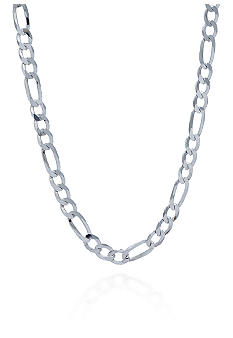 Belk & Co. Sterling Silver Figaro Chain