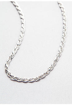 Belk & Co. Sterling Silver Rope Chain