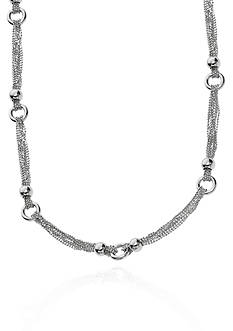 Belk & Co. Sterling Silver Cable Link Necklace