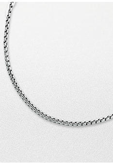 Belk & Co. Sterling Silver Round Box Chain
