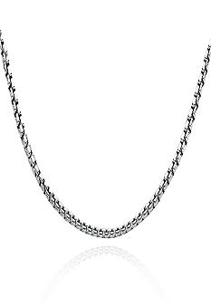 Belk & Co. Sterling Silver Box Chain