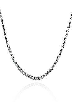 Belk & Co. Sterling Silver Box Chain