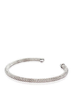 Belk & Co. Sterling Silver Mesh Cuff
