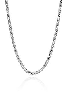 Belk & Co. Sterling Silver Square Chain Necklace
