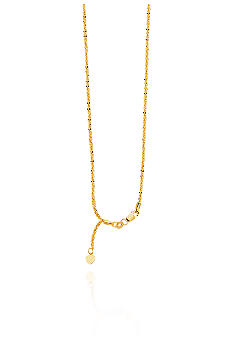 Belk & Co. 14K Yellow Gold Sparkle Chain