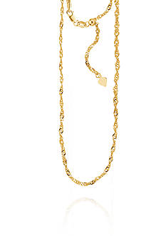 Belk & Co. 14k Yellow Gold Chain