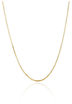 Belk & Co. 14K 20 Inch Box Chain