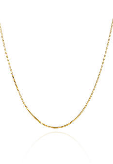 Belk & Co. 14K Yellow Gold 22 Inch Box Chain