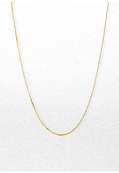 Belk & Co. 14k 30 Inch Box Chain