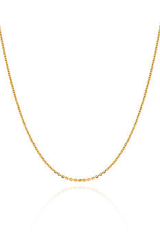 Belk & Co. 14k 20 Inch Cable Chain