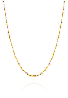 Belk & Co. 14k 18 Inch Cable Chain