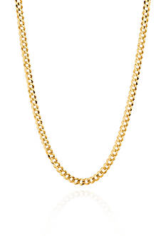 Belk & Co. 14k Yellow Gold Curb Chain Necklace