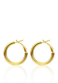 Belk & Co. 14k Yellow Gold Hoop Earring