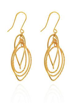 Belk & Co. 14k Yellow Gold Earrings
