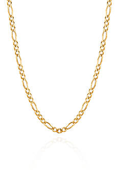 Belk & Co. 14k Yellow Gold Figaro Link Necklace