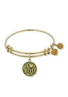 Angelica I Love You Expandable Bangle