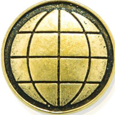 Charm Bracelets: Yellow Gold-Tone Angelica Earth Expandable Bangle