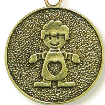 Charm Bracelets: Yellow Gold-Tone Angelica Baby Boy Expandable Bangle